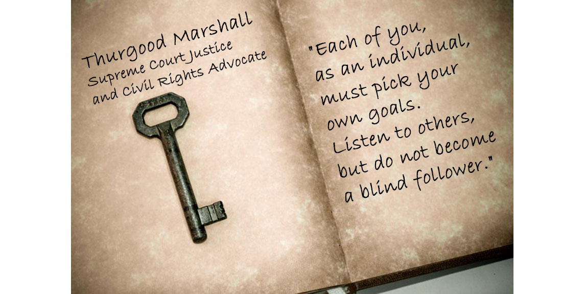 Personal Development Quotes Thurgood Marshall