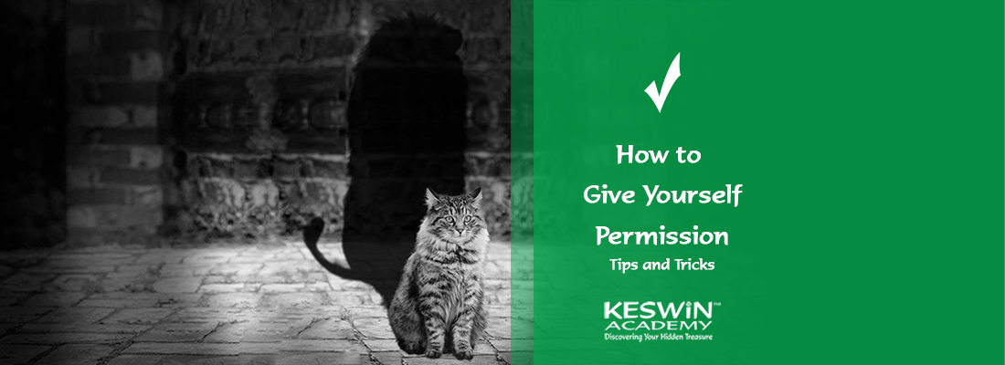 Giving yourself persmission