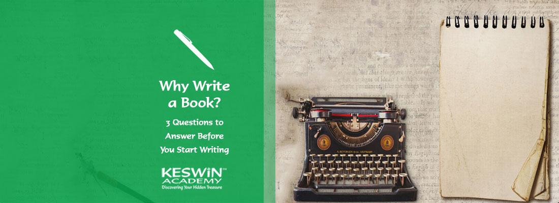 Why write a book