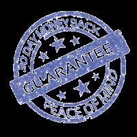 30 Day Guarantee Stamp